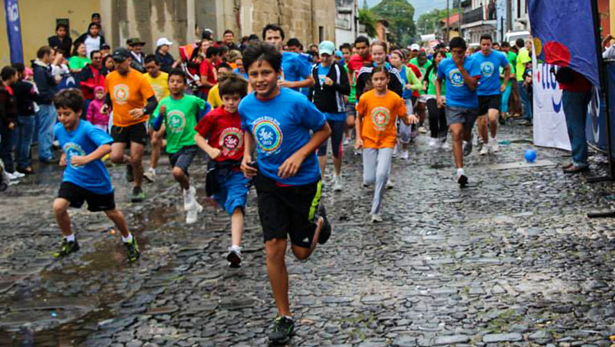 Carrera Arco Iris en Antigua Guatemala   Marzo 2018