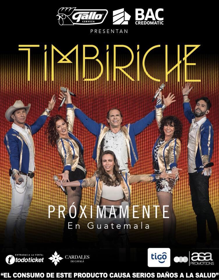 Concierto de Timbiriche en Guatemala