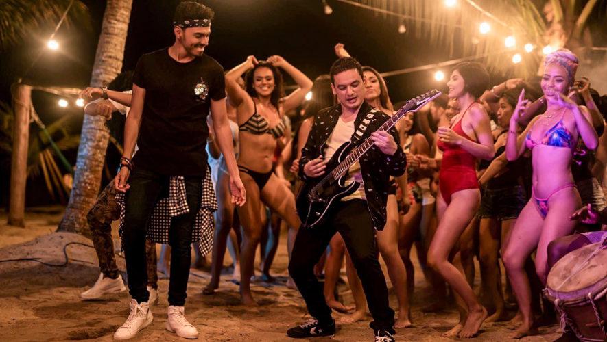 El video de la canción Pa Gozar fue grabado en Puerto Barrios, Izabal