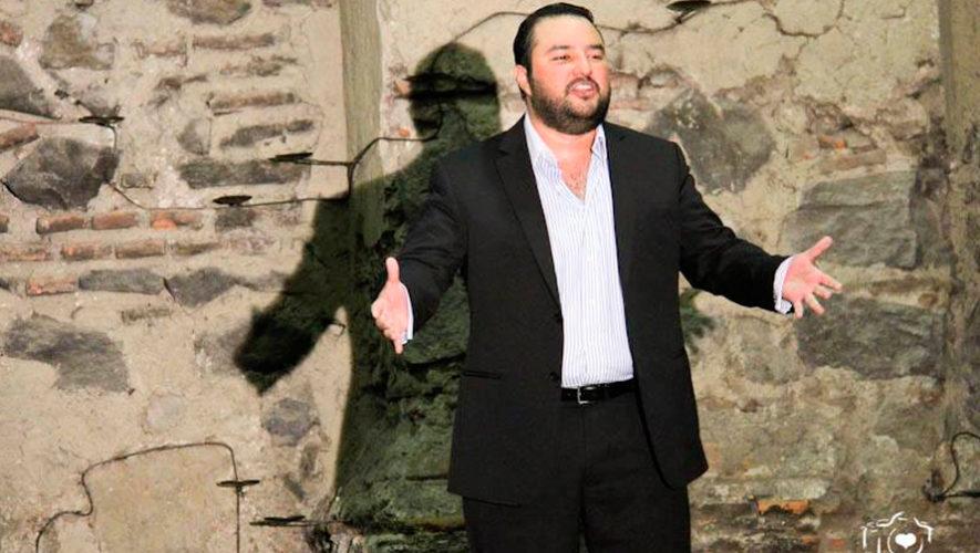Mario Chang cantará con Plácido Domingo