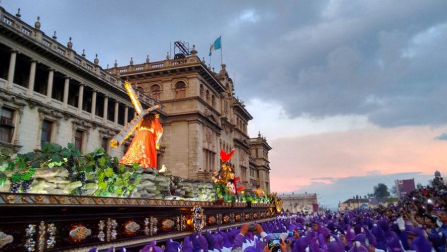 Procesiones de Semana Santa en Guatemala