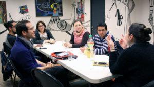 Charla entre jóvenes y escritores guatemaltecos | Abril 2018