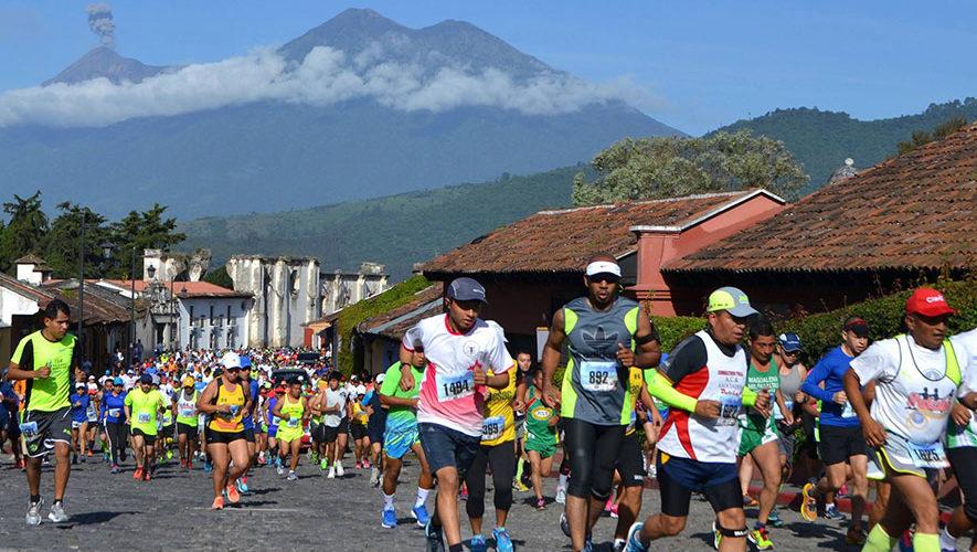 XXXVII Medio Maratón Las Rosas en La Antigua Guatemala   Julio 2018