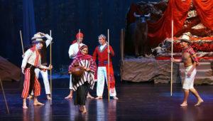 Presentación del Ballet Moderno y Folklórico en San Lucas   Marzo 2018
