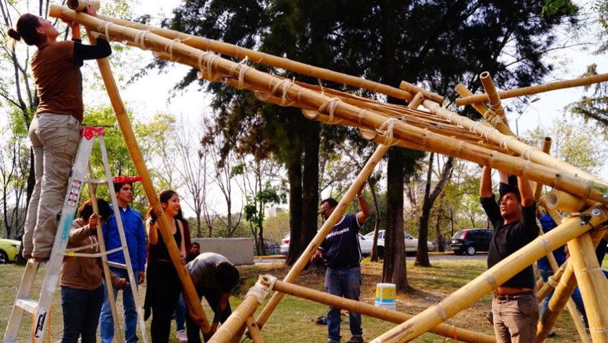 Taller de construcción con bambú | Abril 2018