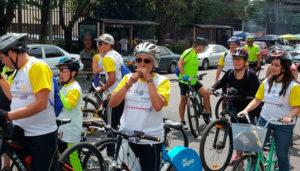 Pedaleando Hacia la Salud en Ciudad de Guatemala   Marzo 2018