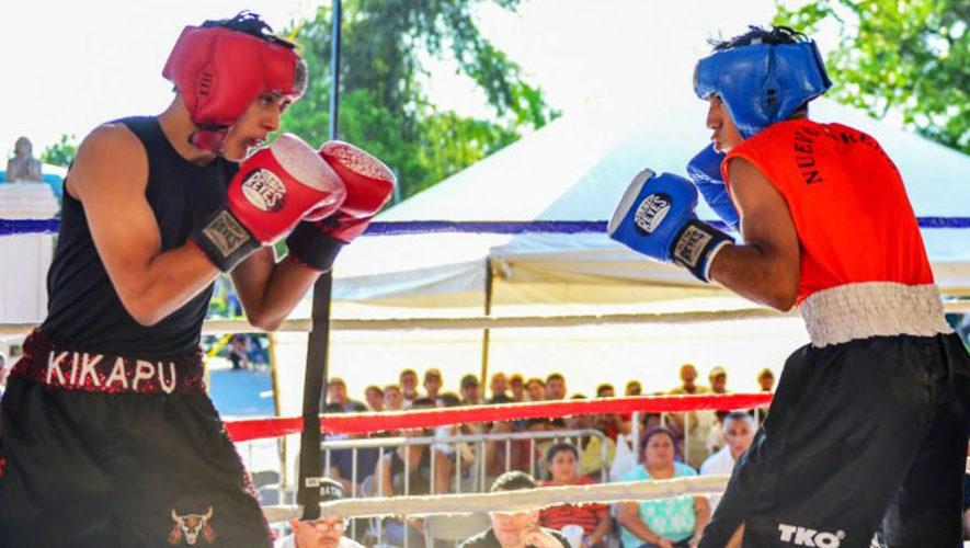 Exhibición gratuita de Boxeo en Mixco | Marzo 2018