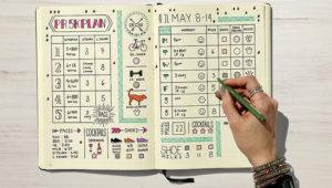 Taller de lettering y aplicación a bullet journal | Marzo 2018