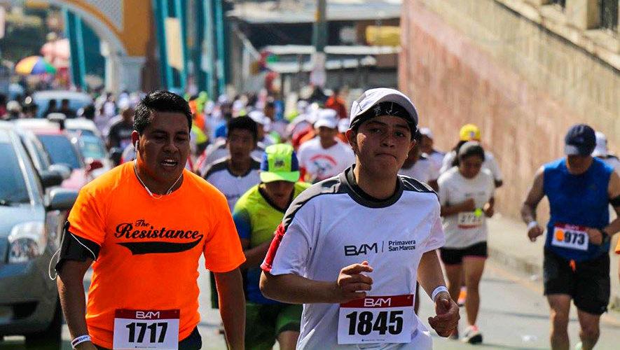 Carrera Primavera 10K en San Marcos | Abril 2018
