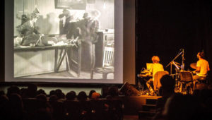 Proyección de cine mudo acompañado de música en vivo   Mayo 2018