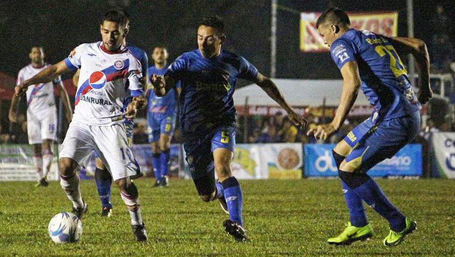 Partido de Cobán y Xelajú por el Torneo Clausura | Marzo 2018