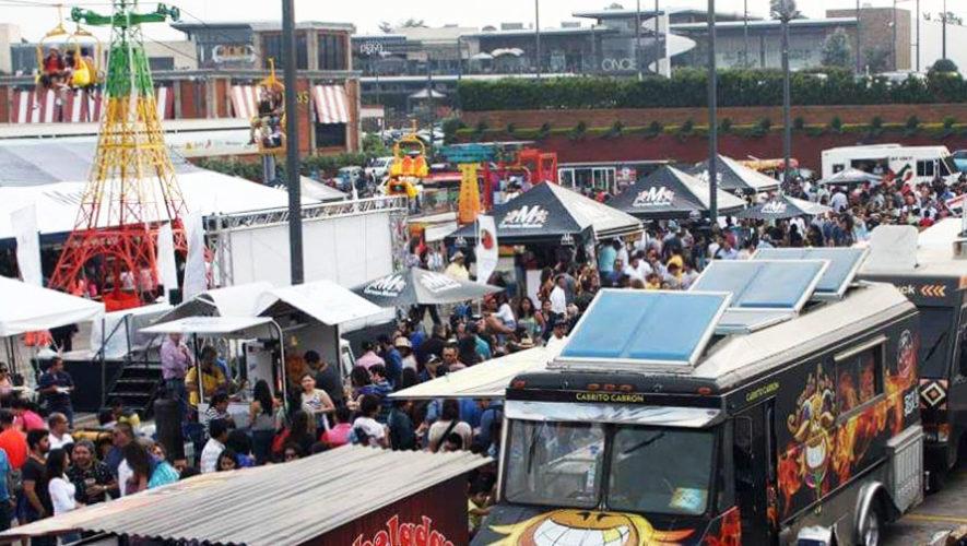 Cuarta Convención de Foodtrucks en Guatemala | Marzo 2018