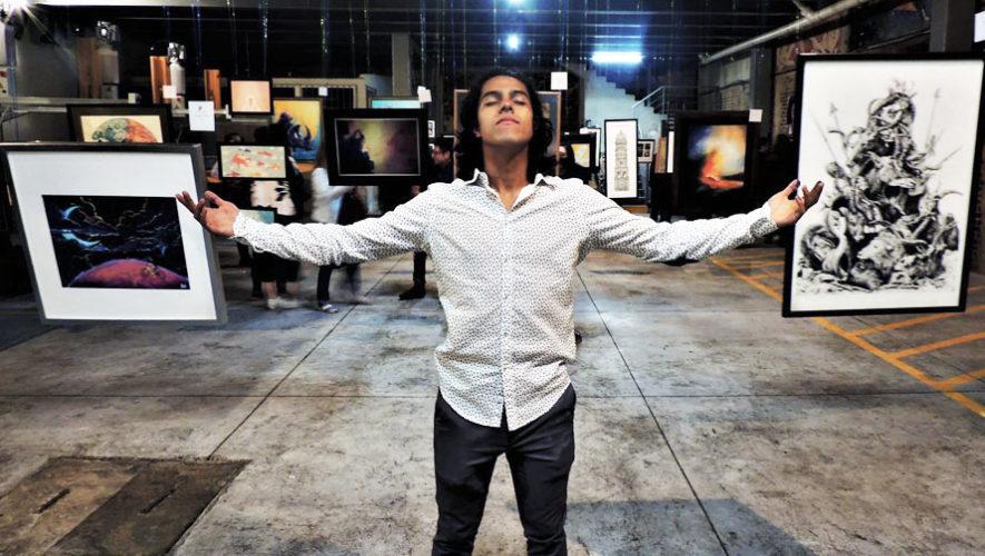 Gran exposición gratuita de varios artistas en Guatemala   Marzo 2018