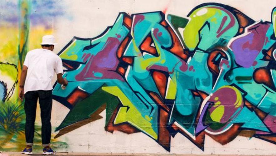 Festival de graffiti con artistas internacionales en Villa Nueva   Marzo 2018