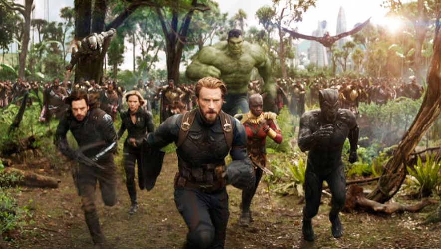 Estreno de Avengers: Infinity War en Guatemala | Abril 2018