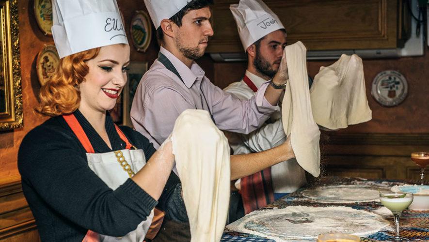 Taller de Pizzas junto a chef italiano   Marzo 2018