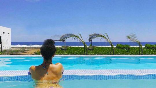 piscinas con vista al mar en Guatemala