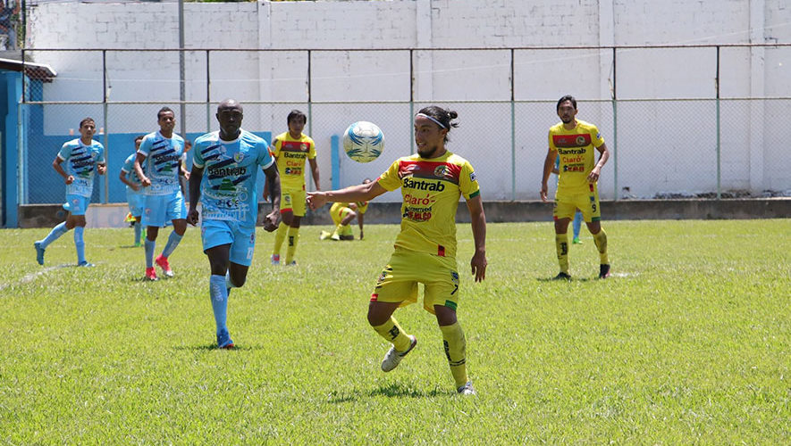 Partido de Sanarate y Marquense por el Torneo Clausura   Marzo 2018