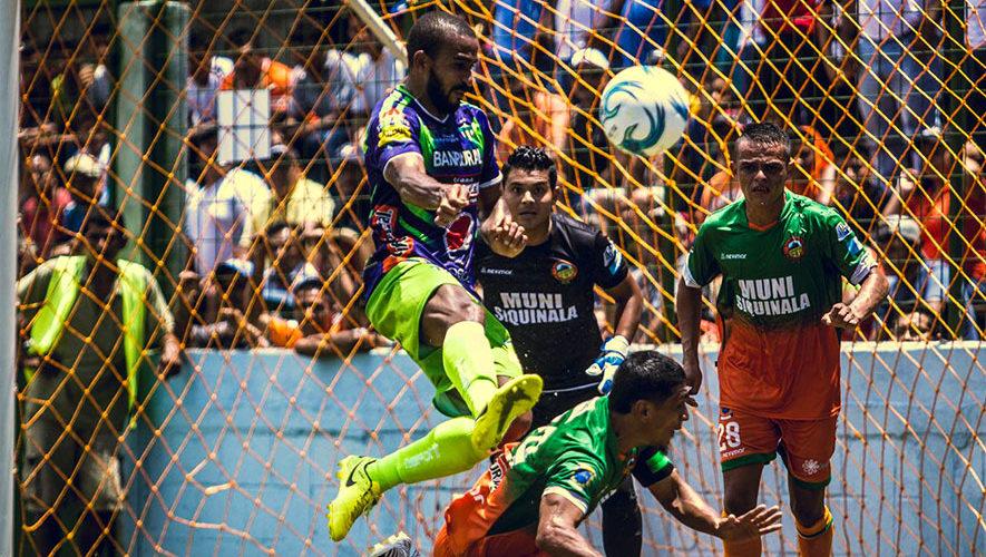 Partido de Siquinalá y Antigua por el Torneo Clausura | Marzo 2018