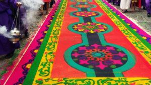 Talleres para hacer alfombras de Semana Santa | Marzo 2018