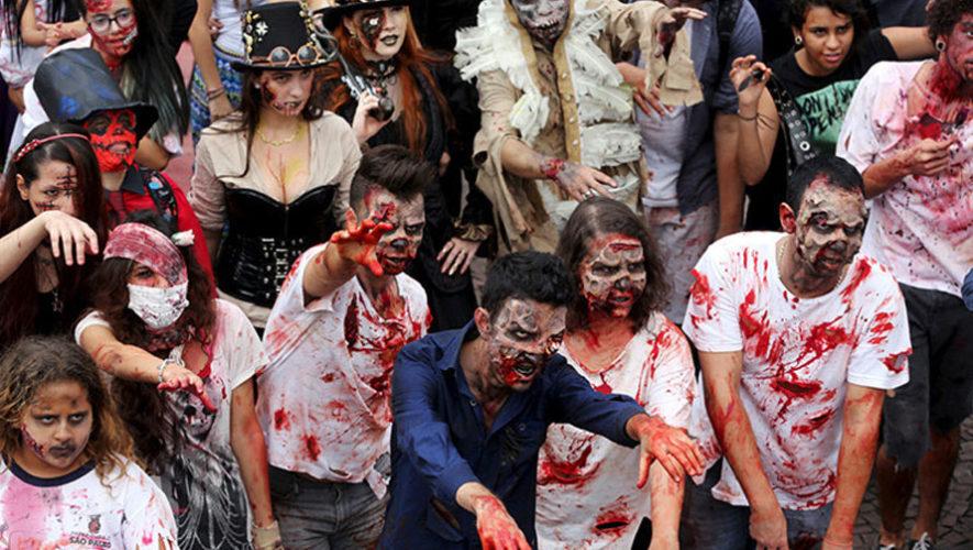 Primera carrera de zombies con obstáculos   Julio 2018