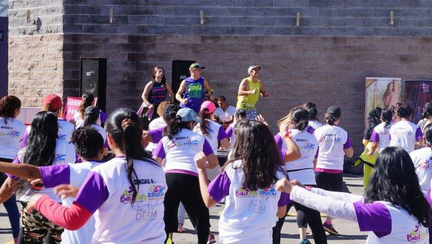 Fiesta de zumba en Parque Erick Barrondo | Marzo 2018