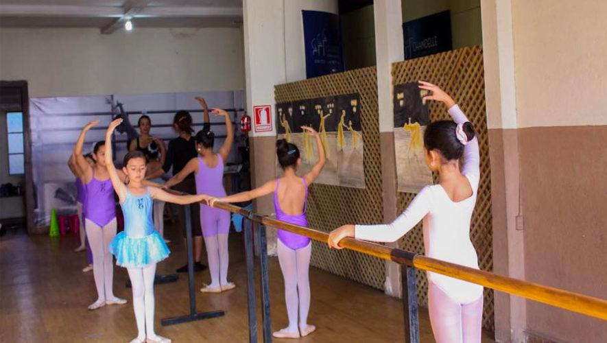 Academia de ballet danzarte academias de baile en guatemala for Escuela danza san sebastian de los reyes