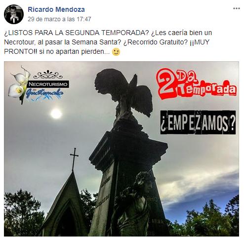 Anuncian que habrá el primer Necrotour del 2018 en Guatemala