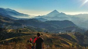 Ascensos a volcanes Cuxliquel y Santa María | Abril 2018