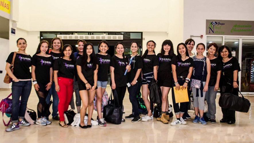 Bailarinas de Quetzaltenango participaron en un encuentro internacional de Ballet en Cuba