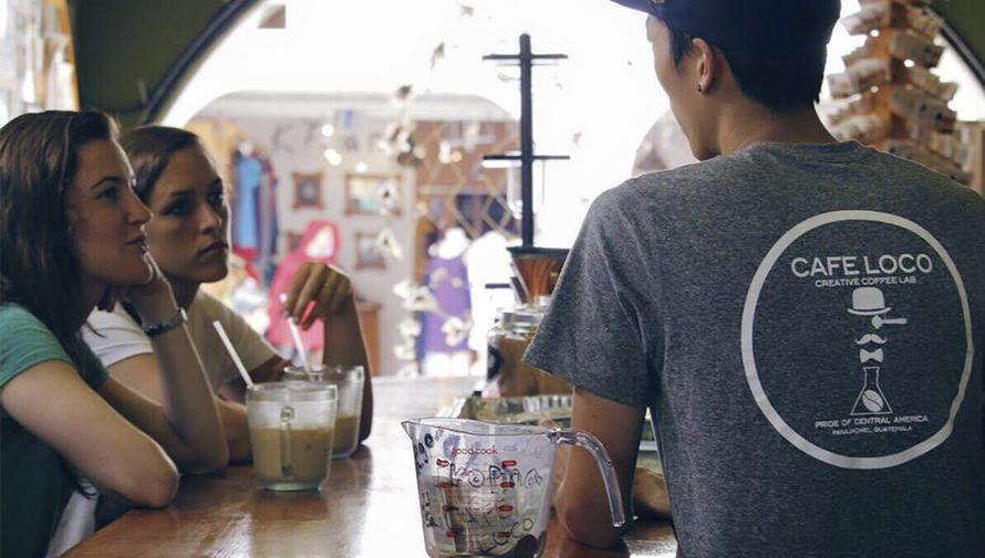 Café Loco en Sololá, uno de los mejores cafés de Guatemala