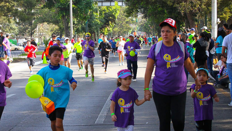 Carrera Arco Iris en Ciudad de Guatemala   Abril 2018