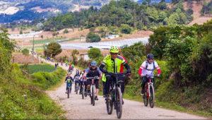 Colazo en bicicleta para principiantes en Tecpán   Abril 2018