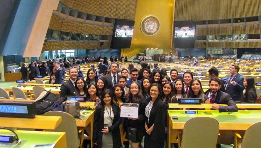 Estudiantes de la USAC representan a Guatemala en las Naciones Unidas en Nueva York