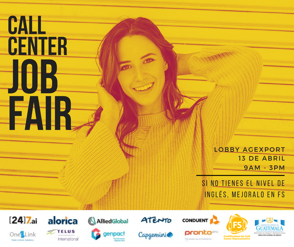 Feria De Empleo 2018 Para Call Center En La Ciudad De Guatemala