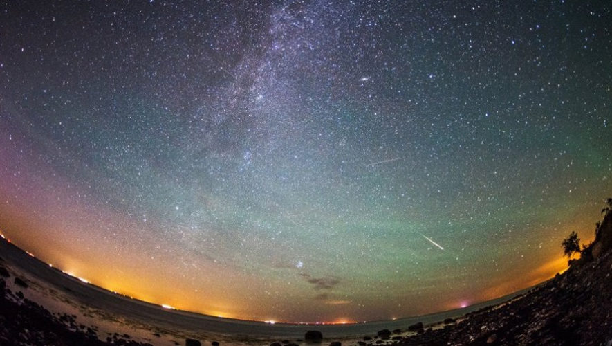 Hora y fecha para ver la lluvia de estrellas Líridas desde Guatemala en abril 2018