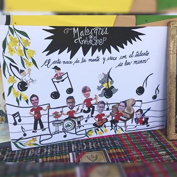 Malacates Trebol Shop compartió homenaje de parte de niños guatemaltecos