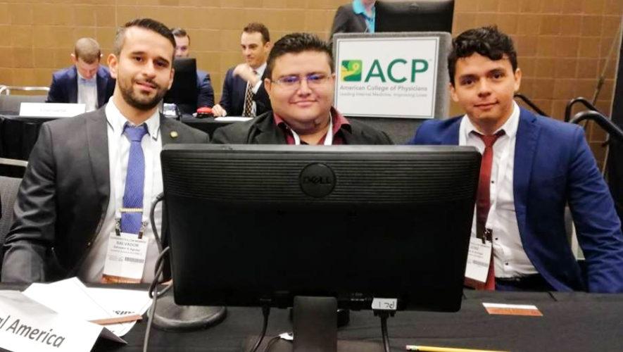 Médicos representaron a Guatemala en un congreso de medicina en Estados Unidos