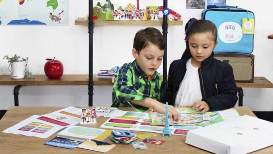 Nico y Mia, juego educativo guatemalteco para explorar el mundo desde casa
