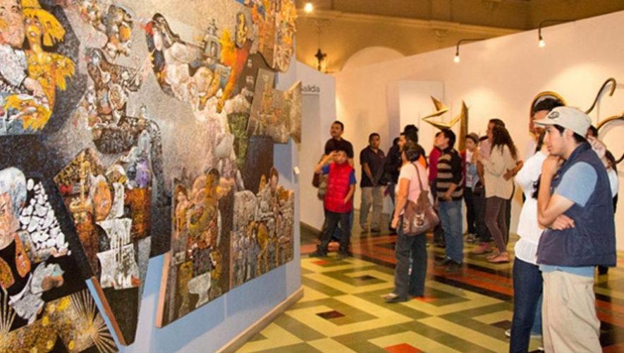 Noche en la Calle de los Museos en la Ciudad de Guatemala