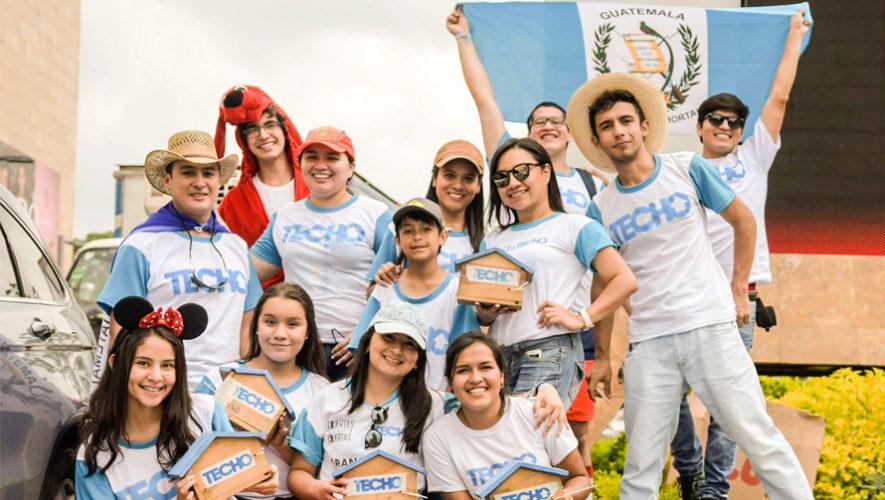 Participa en la Gran Colecta 2018 de Techo Guatemala