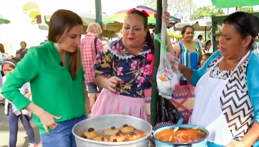 Platillos típicos de Guatemala destacaron en el programa Despierta América