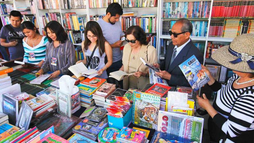 Realizaran la II Feria del Libro 2018 en la Ciudad de Guatemala