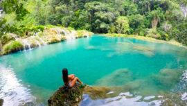 Semuc Champey es uno de los mejores lugares para nadar en el mundo