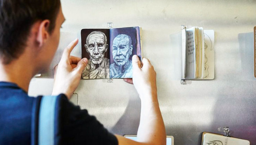 Origen: Exhibición de sketchbooks en Guatemala   Abril 2018