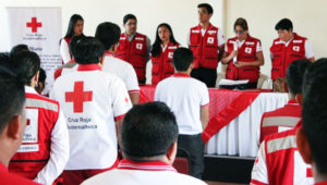 Curso para ser voluntario en la Cruz Roja | Abril 2018