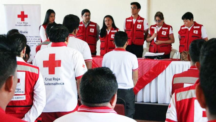 Curso para ser voluntario en la Cruz Roja | Abril 2018