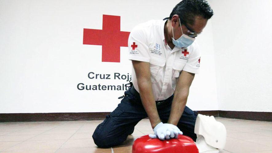 Curso de primeros auxilios en Guatemala | Abril - Mayo 2018