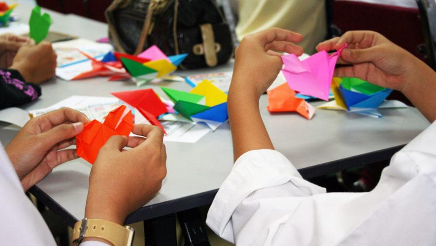 Taller de origami en Antigua Guatemala | Abril 2018