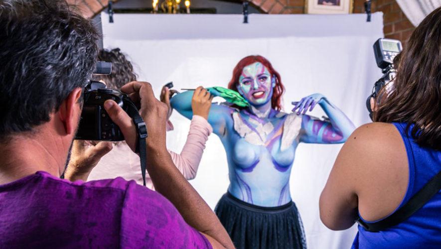 Taller de fotografía con modelos de body paint   Mayo 2018